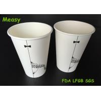 Buy cheap Popular 16oz disposable coffee cups , Hot Milktea Single Wall Paper Cups 500ml Capacity from Wholesalers