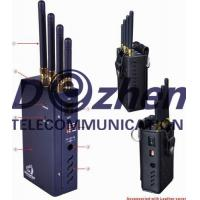 Quality Portable Handheld Signal Jammer Spy Camera Bluetooth WiFi Type With Selectable Button for sale