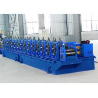 Quality Blue Elevator Guide Rail Roll Forming Machine High Strength Operation for sale