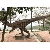 Quality Giant Dilophosaurus Model Outdoor Dinosaur Yard Art Customize Color / Size for sale