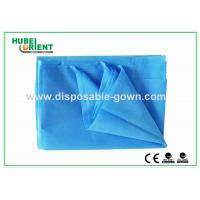 Quality Dust Proof PP Disposable Bed Sheets , Single / Double Bed Sheets For Hotels for sale