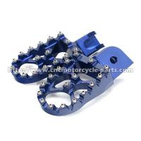 Quality 7075 MX Adjustable BMW Footpegs , CNC Billet Machining BMW Motorcycle Foot Pegs for sale