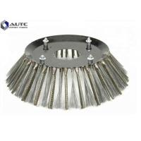Quality PP Steel Sweeper Broom Brushes Rotary Roller Customized Thickness Wear Resistant for sale