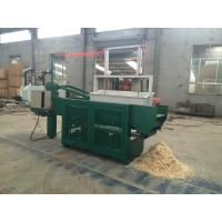 Automatic wood shaving machine for animal bedding / Hydraulic Vertical ...
