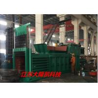 Quality Manual Strapping Conveyor Feeding Material Horizontal Paper Baler machine for sale
