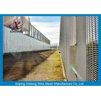 Quality Hot Dipped Galvanized 358 High Security Fence For Airport 4.0mm Wire Dia for sale