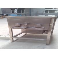 Quality Stainless Steel Meat Processing Machine For Mixed Sausages Automatic Discharging for sale
