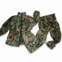 Quality Water-resistant Hunting Set with TPU Membrane and Tricot Shell for sale