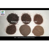 China Refractory Raw Material Brown Fused Aluminum Oxide / Aluminium Oxide Media on sale