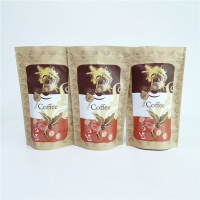 China Digital Printing 250g Stand Up Ziplock Coffee Bag For Coffee Beans on sale