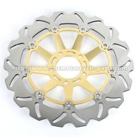 Quality CNC Billet Aluminum Suzuki GSXR 750 Brake Discs 300mm Out Dia Front Position for sale