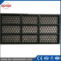 Quality Brandt high quality steel frame oil shale shaker screen / frame vibrating sieving wire mesh with API Q1 certificate for sale