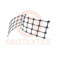 China High Strength PP Biaxial Geogrid Soil Reinforcement For Railway Construction on sale