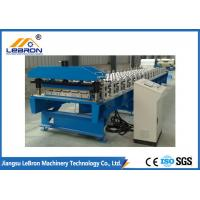 Quality High Efficiency Roofing Sheet Roll Forming Machine Light Steel Structure 70mm Shaft for sale