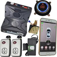 Quality GSM & GPS Smartphone Car Alarm Security Two Way Cell Phone Car Starter for sale
