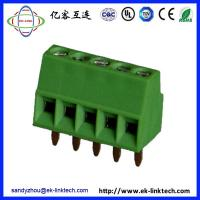 Quality China factory Pitch2.54mm PCB Rising Clamp Terminal Blocks for sale