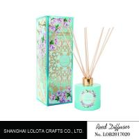 China Customized Fragrance Room Fragrance Reed Diffusers Color Painting For Home Decoration for sale