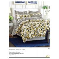 Quality Plain Dyed Microfiber Polyester Bed Set 100 Polyester Sheets Set / Quilt Cover Set for sale