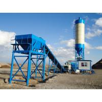 Quality Agitated Central Mixing Plant , Mobile Wet Concrete Plant Equipment For Site for sale