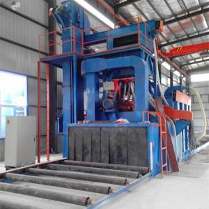 China Engineering Machinery Abrasive Blasting Machine , Steel Plate Cleaning Machine on sale