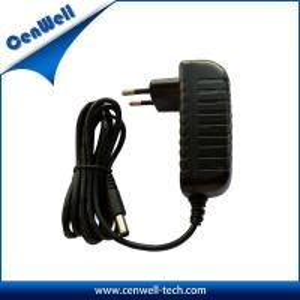 Quality wall mount type ac dc output eu plug dc adapter 12v 1.2a for sale