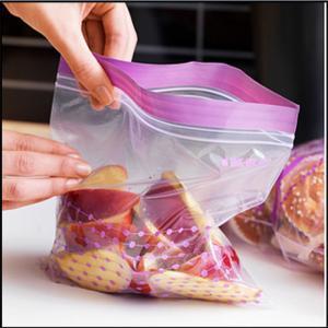 China Resealable Plastic Bags For Foods Packaging , ZipLock Custom Printed Plastic Bags on sale