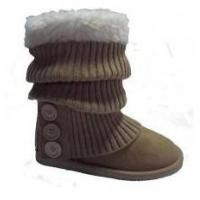 Quality Winter Women Knitted Fashion Boots for sale