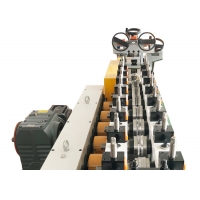 Buy cheap Small Diameter Locking Ring V Band Clamp Cold Roll Forming Machine from wholesalers