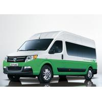 Quality Travel Small Electric Powered Van / 15 Seats Long Wheelbase High Roof Dongfeng Mini Bus for sale