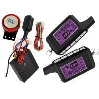 Quality Double Protection RFID Motorcycle Alarm System With ACC ON Alarm And Shock Alarm for sale