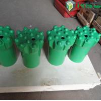 T51 89mm / 115mm Rock Drilling Tools , Thread Tungsten Carbide Button Bits