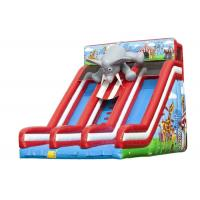 Quality Elephant Backyard Large Inflatable Commercial Slide For Kids EN14960 BV for sale