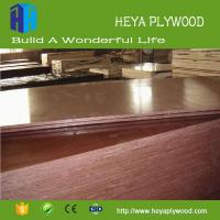 China HEYA construction shuttering plywood 15mm brown film faced plywood maker on sale