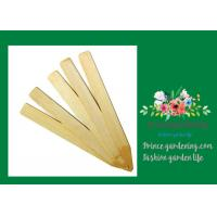 Vegetable Bamboo Garden Plant Markers , Natural Wood Garden Stakes