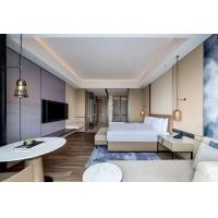 China Fancy Design Modern Hotel Bedroom Furniture Sets Customized Size And Material on sale