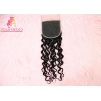 Quality Italian Curly 5*5 Transparents Lace Closure for sale