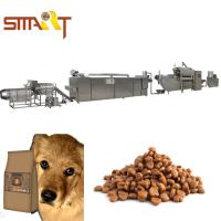 Quality Extrusion Method Dog Cat Food Extruder Production Line Also Can Make Fish Feed for sale