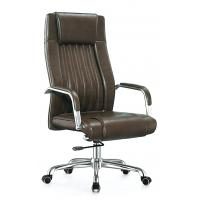 Quality Waterproof Tall High Back Office Chair Revolving Style For Boss High Durability for sale