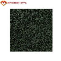 Quality High Polished Forest Green Granite Cut To Size Granite Polishing Pads for sale