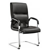 Quality Durable Mid Back Office Visitor Chairs For Customers PU And PVC Covered for sale