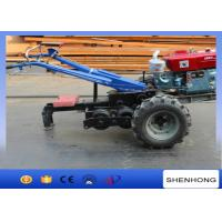 China 15HP Tower Erection Tools Double Capstan Hand Tractor Winch For Cable Pulling on sale