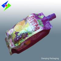 Quality customized stand up pouch with spout, foil stand up pouch,doypack pouch for milk for sale