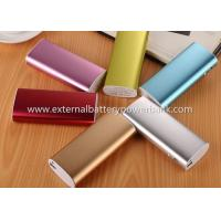 Quality Red Emergency Backup Portable Charger Power Bank For Smartphone / Tablet PC for sale