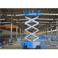 Quality Hydraulic Scissor Table  2.2kw Self Propelled Steel Body Structure for sale