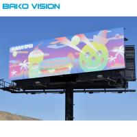 Quality IP67 Outdoor Led Digital Signage Full Color High Brightness Fast Lock Front Service for sale