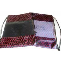Buy cheap 100% polyester full printing transparent see through window string drawing bag from wholesalers
