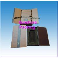 China Fancy paper perfume box with fine craftmanship on sale