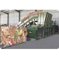 Quality Semi - Automatic Plastic Baling Machine / Waste Paper Baling Machine for sale