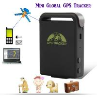 China GPS102 Mini Global GSM SMS GPS Tracker For Person Child Elderly Disabled Vehicle Tracking on sale