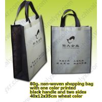 Quality Fold and Portable Shopper Bag with Two Black Handle for sale